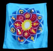 Lotus Banner - Blue