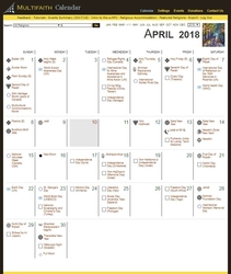 Electronic Version - Multifaith Calendar