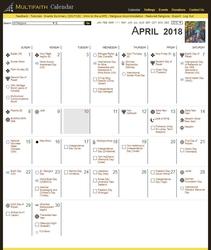 Electronic Version-Multifaith Calendar