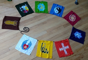 Universal Spirit / Interfaith Flag String (A)