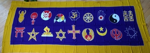Interfaith Universal Worship Banner