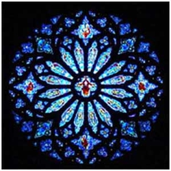 CHRISTIAN rose window