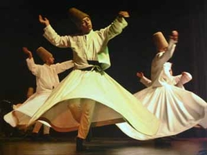 ISLAM whirling derishes