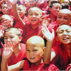 BUDDHIST children