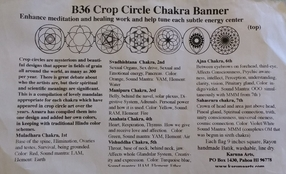 Sacred Crop Circle Symbols Interfaith Banner