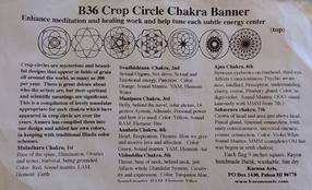 Sacred Crop Circle Symbols Interfaith Banner