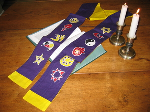 Interfaith Stole - Purple
