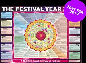 Festival Year Calendar Poster 2019