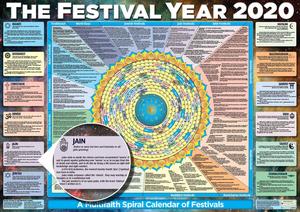 Festival Year Calendar Poster 2020