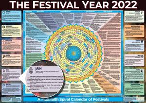 Festival Year Calendar Poster 2022