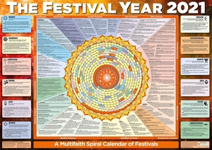 Festival Year Calendar Poster 2021