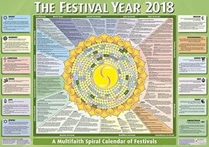 Festival Year Calendar Poster 2018