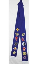 Interfaith Stole - Blue