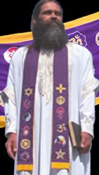 Chaplain Stole - purple
